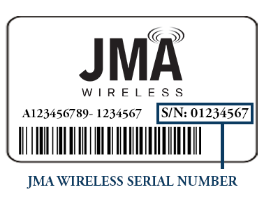 Jumper Serial Number Label
